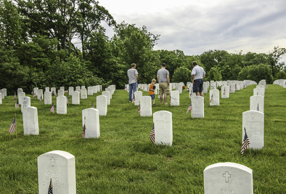 Memorial Day at Jefferson Barracks National Cemetery
