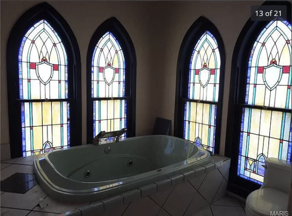 Bathtub in Pacific church