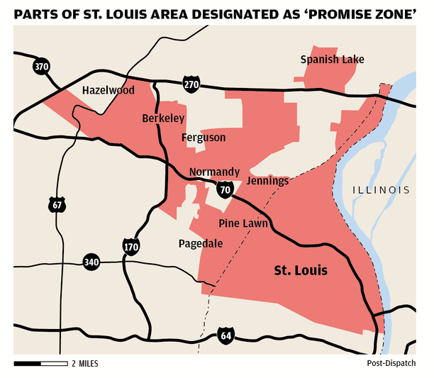 Promise zone map