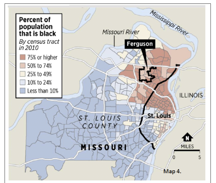 Map of STL 2010 Census